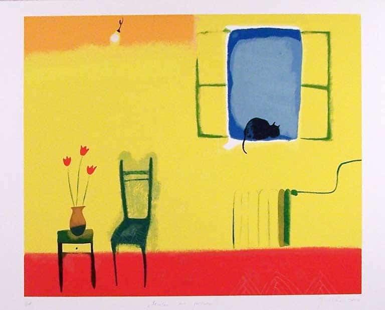 Sanja Rešček – Mačka na prozoru