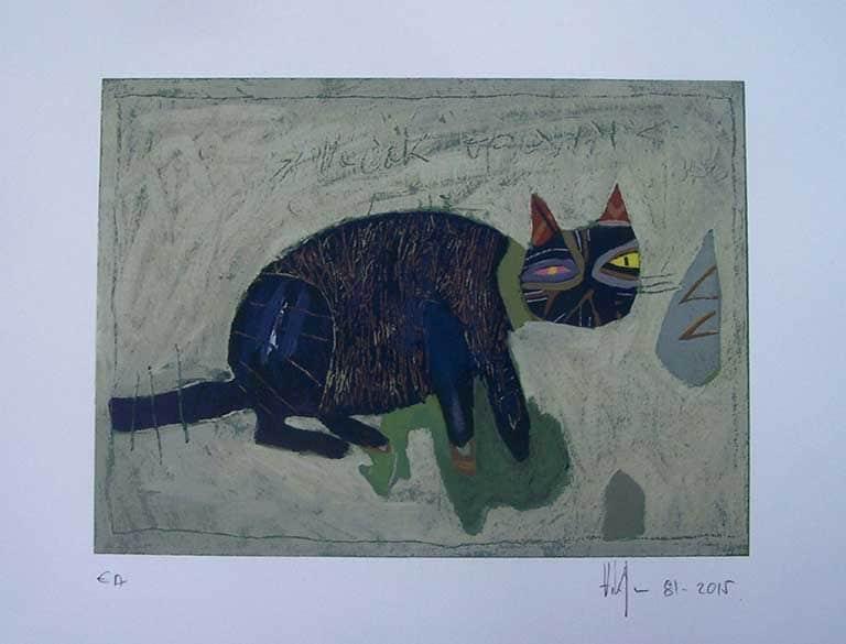 Zlatan Vrkljan – Plavi mačak