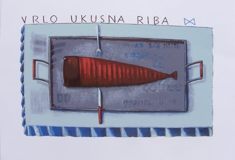 Antun Boris Švaljek – Vrlo ukusna riba
